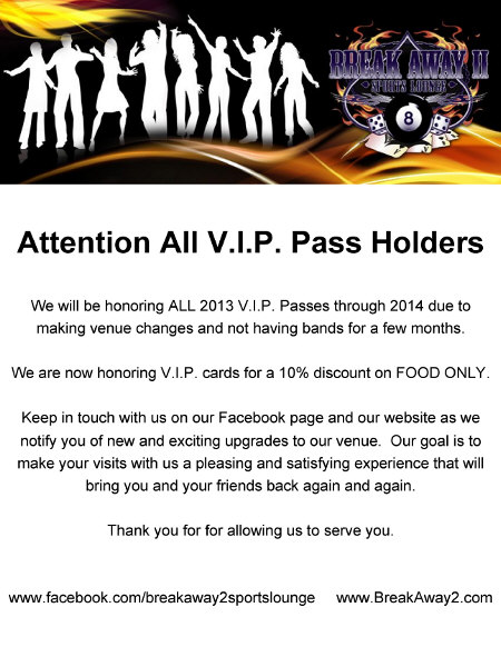 vip pass changes image