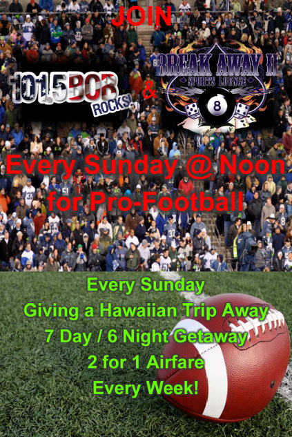 Sunday Football Events poster