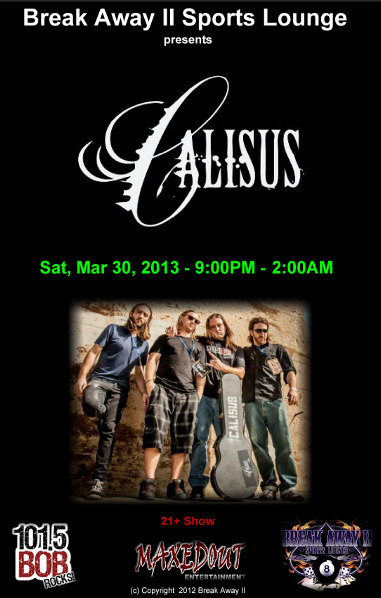 calisus band poster