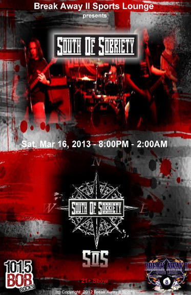 south of sobriety poster
