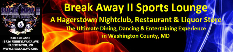 Hagerstown Nightclub, Restaurant and Liquor Store Header image