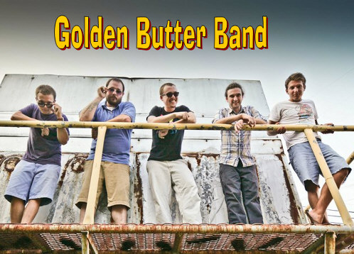 Golden Butter Band group photo
