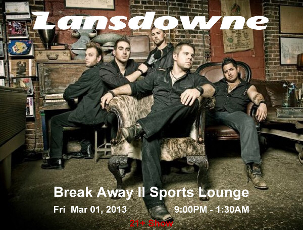 lansdowne band group poster