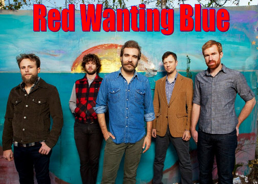 Red Wanting Blue group photo