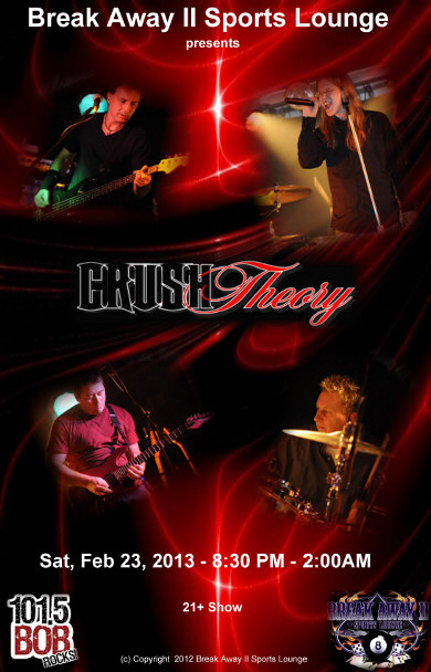Crush Theory Band poster