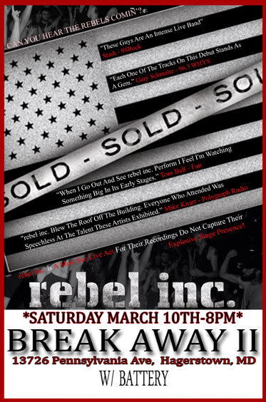 rebel inc band poster