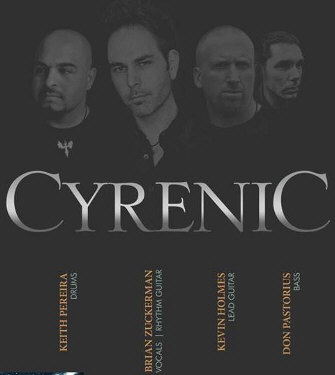 Cyrenic comes to Hagerstown poster