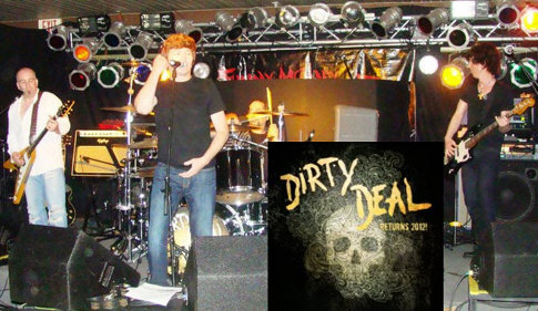 Dirty Deal Band at Break Away II Sports Lounge banner