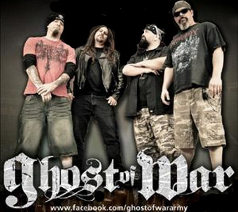 Ghost of War band with name image
