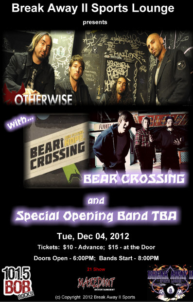 Otherwise and Bear Crossing poster image