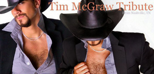 Adam Tucker - Tim McGraw tribute image