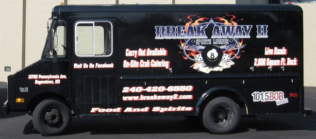 black beer truck rental
